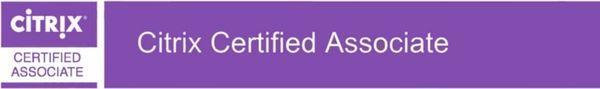 Citrix CCA certificering