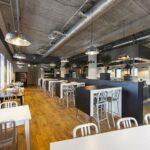 Westhaghe locatie Amsterdam lunchruimte
